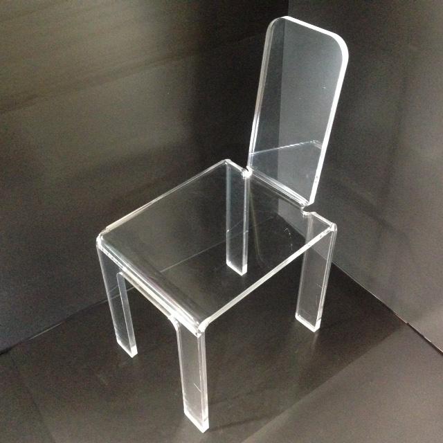 chaise droite plexi marcorelles. Black Bedroom Furniture Sets. Home Design Ideas
